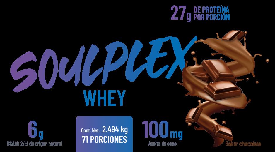 Producto SOULPLEX WHEY SABOR CHOCOLATE
